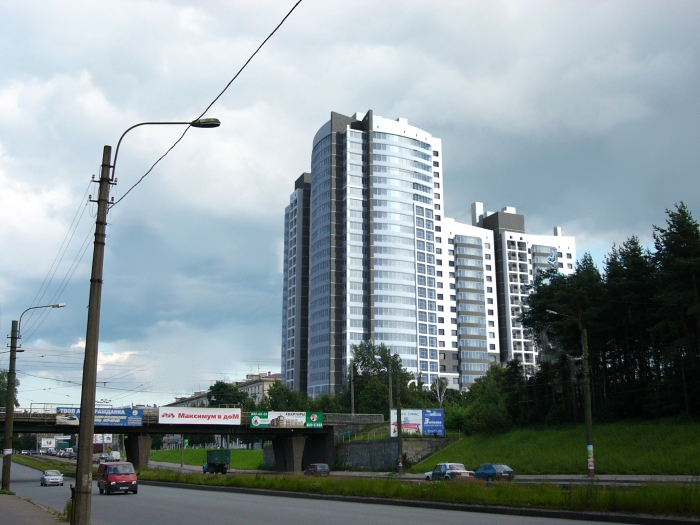 7- Woningcomplex Svetlana, Bogatyrski Prospekt/Zelenogorskaja Ul.