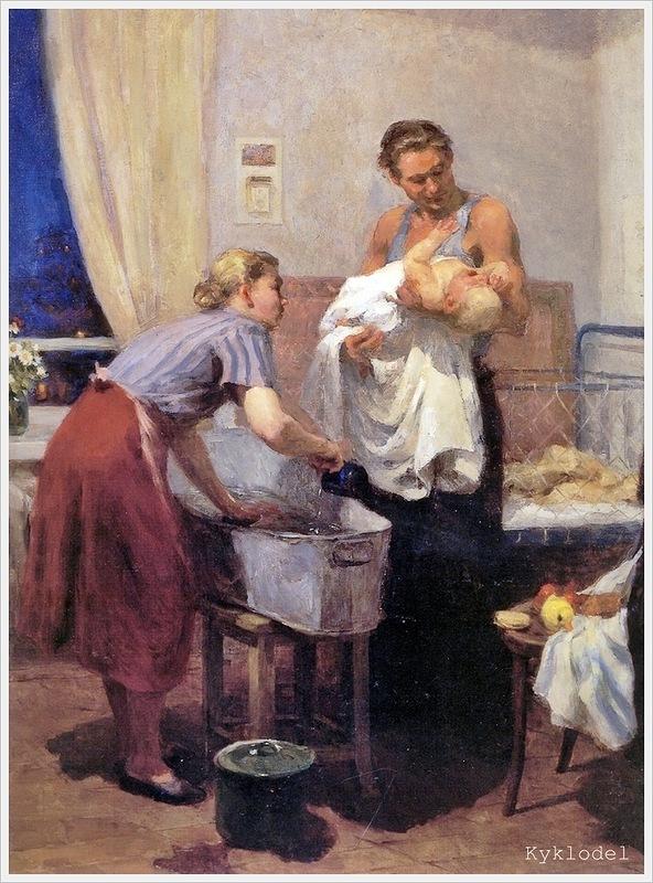 V.Agababajeva-Sjebasjeva - Thuis (1955)