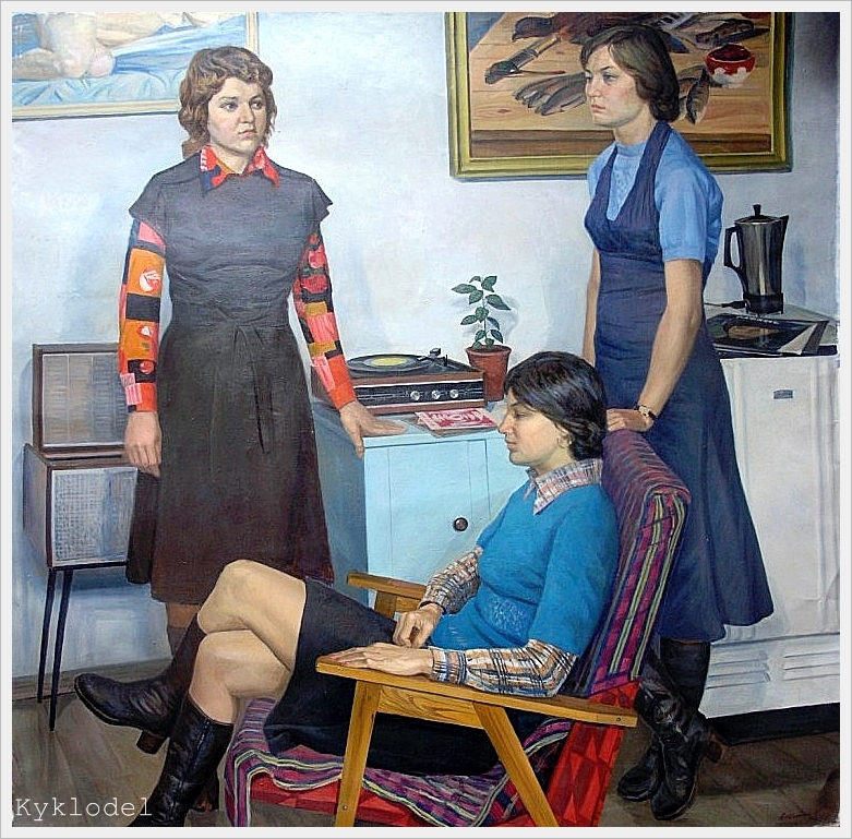 A.Nevzgodin - Vriendinnen (1977)