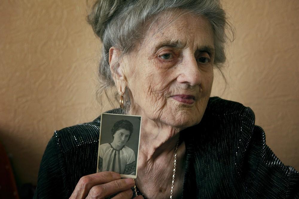 Ana Vasilievna Bigoes (88) bracht tien jaar van haar leven in de Goelag door.