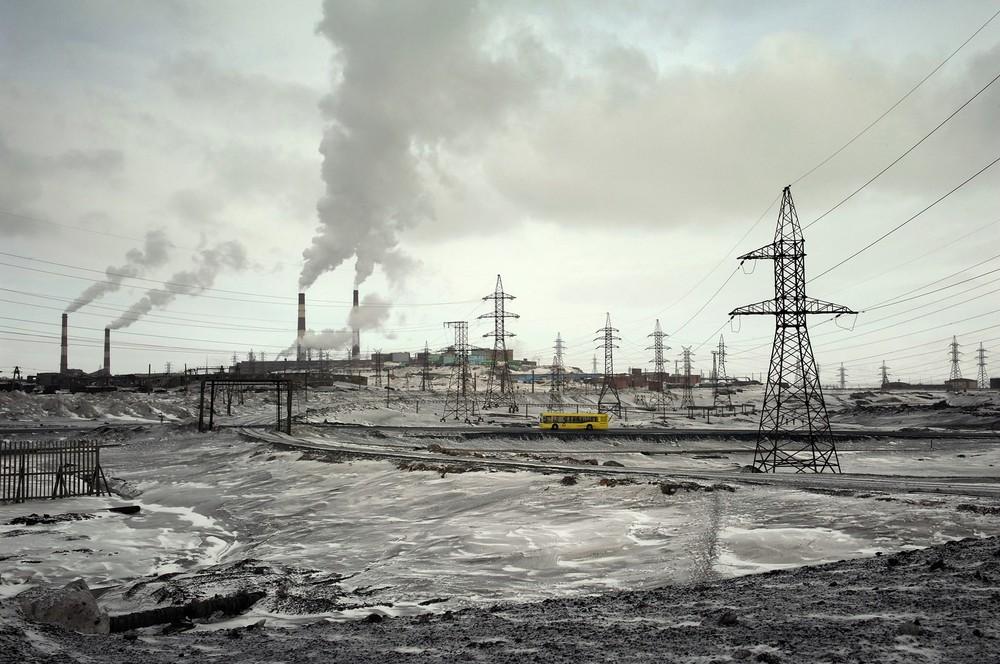 'Groot Norilsk' bestaat uit drie steden: Norilsk, Talnach en Kajarkan.