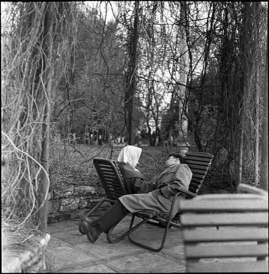 Moskou, Gorki park, 1961.