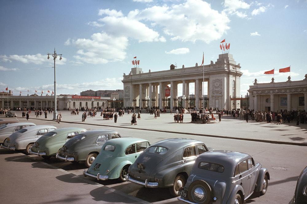 Moskou, Park Koeltoery, 1956