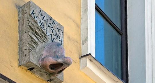 De Neus van Majoor Kovaljov, Voznesenski prospekt, Sint-Petersburg
