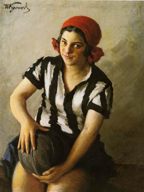 I. Koelikov -Sportvrouw(1929)(1)