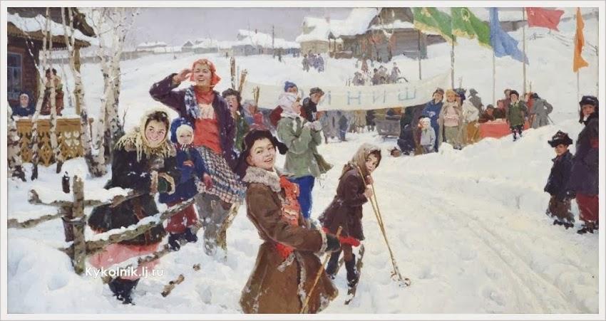 A. Mazitov - Bij de finish (1957)