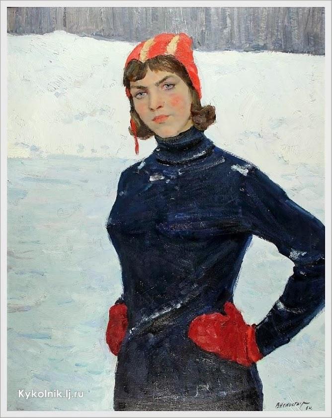 V. Nepostajev - Sportvrouw (1964)