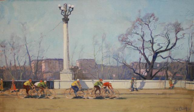 M. Agejev - Op de brug (1961)