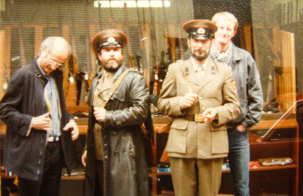 Philippe Scheltema, Boris Abarov, Felix Kaplan, ondergetekende