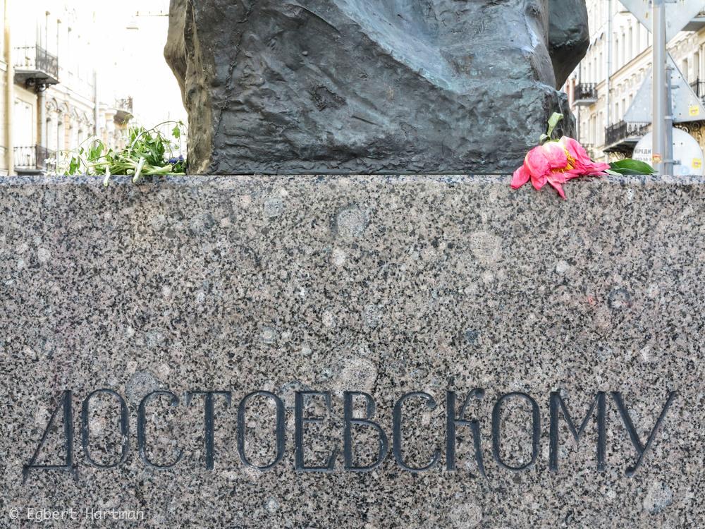 standbeeld Dostojevski Sint-Petersburg