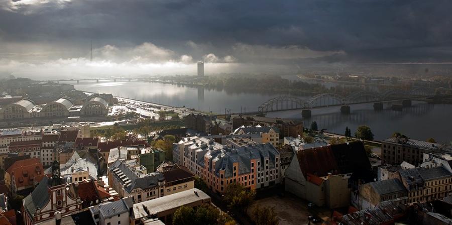 Het huidige Riga