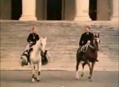 dressuur paarden Leningrad Sovjetunie film