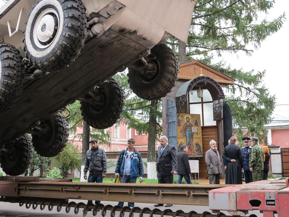 pantserwagen, Donskoj klooster Moskou
