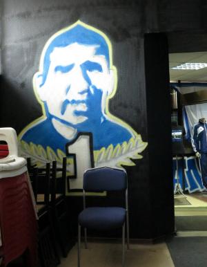 Lev Jasjin fanshop supporters Dinamo Moskou