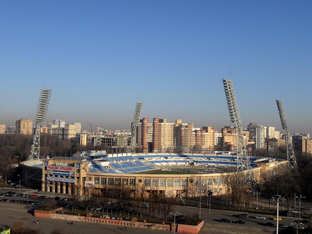 Dinamo Moskou voetbal stadion