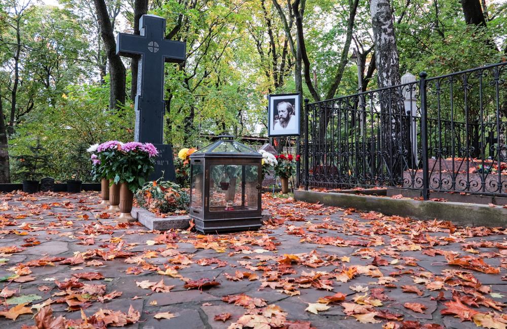 graf Solzjenitsyn Donskoj klooster Moskou