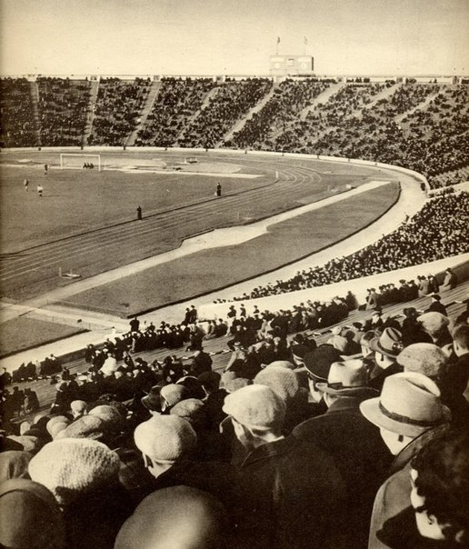 1957 Kirov Stadion Leningrad FC Zenit rellen Torpedo Moskou