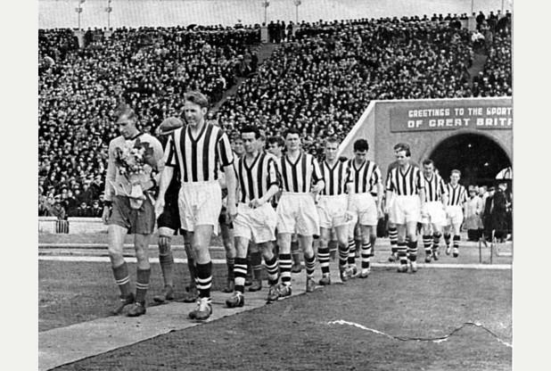 West Bromwich Albion FC Zenit Leningrad 1957