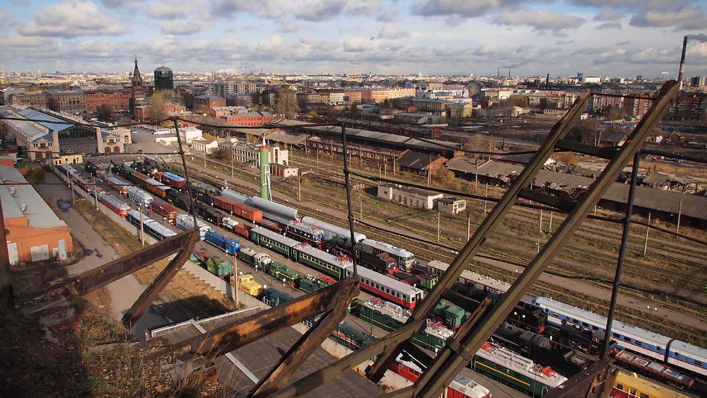 locomotieven stoomtreinen museum Russische Rusland