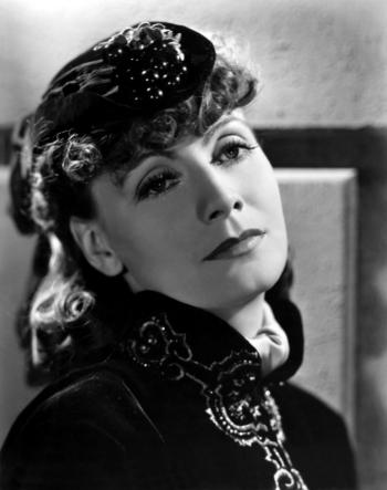 Amerikaanse actrice Greta Garbo Anna Karenina 1935