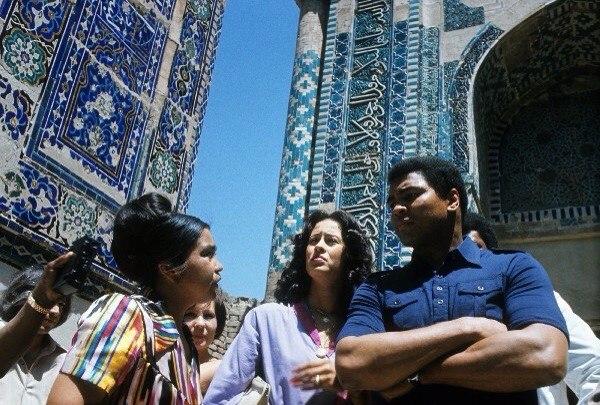 Muhammed Ali in Oezbekistan