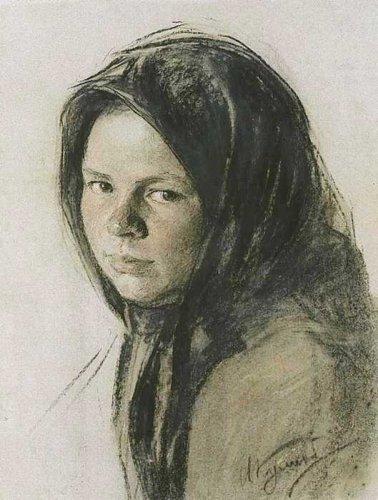 Portret van een boerin (rond 1910)