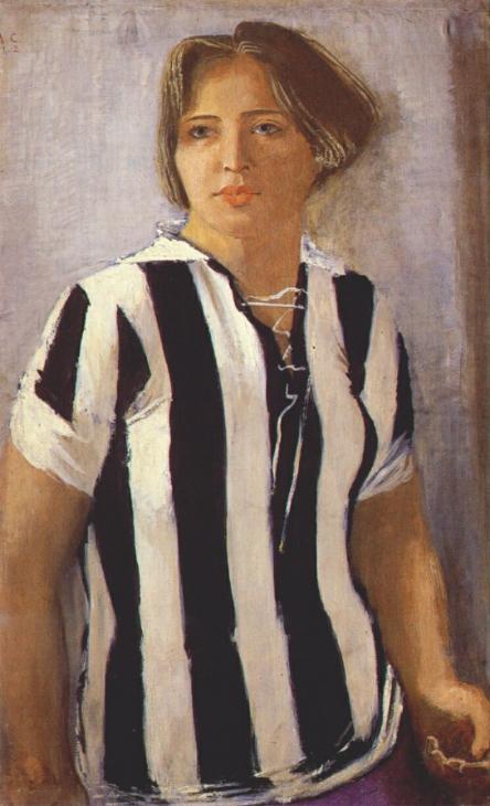 shirt Heracles Juventus Samochvalov painting schilderij Russisch Museum