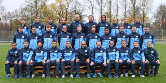 Zenit Russisch voetbal Sint-Petersburg elftal