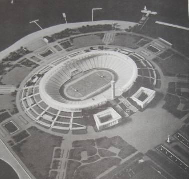 Leningrad voetbal Kirov stadion