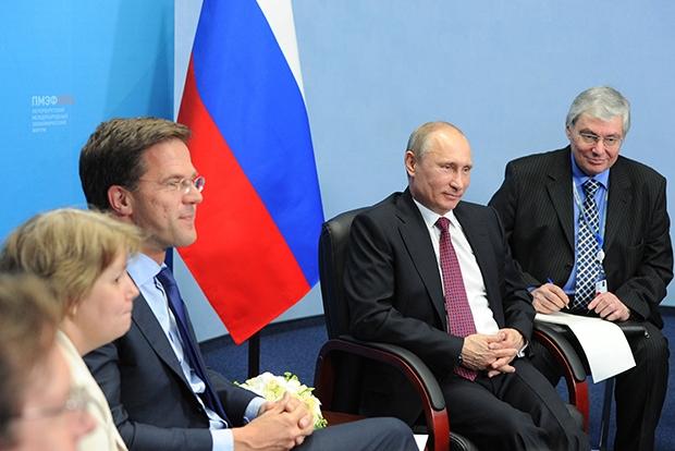 premier Rutte president Poetin