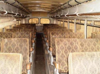 interieur bus ZiL