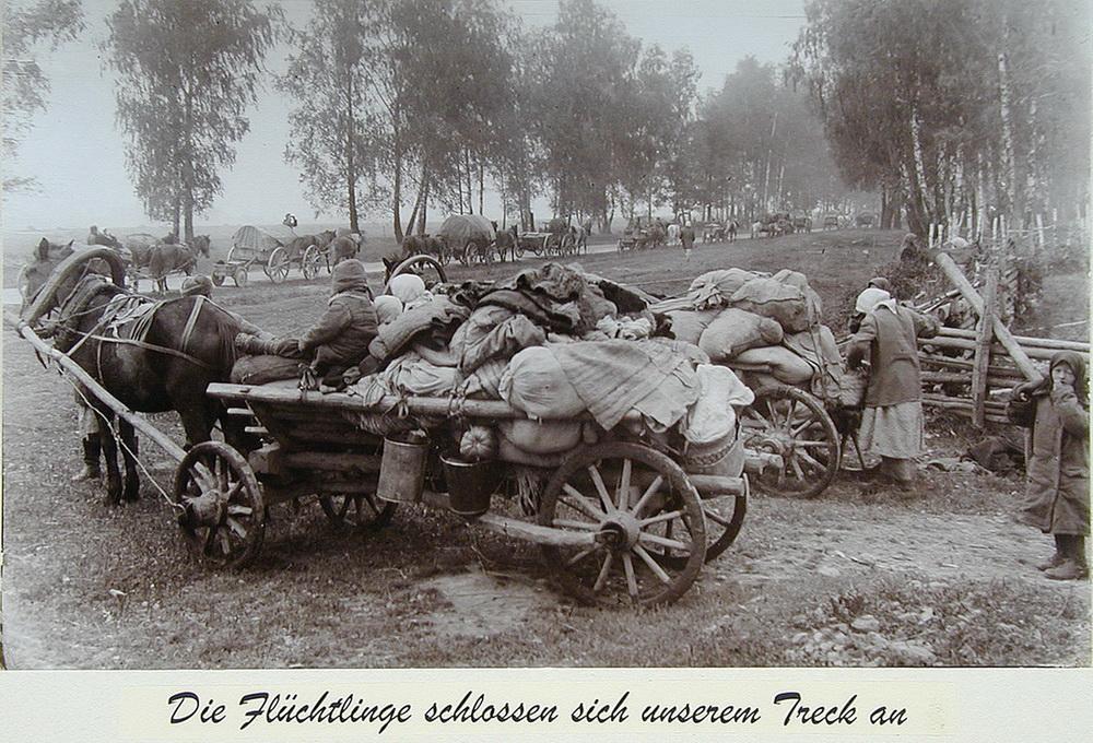 Russische vluchtelingen dorp Wehrmacht Asmus Remmert