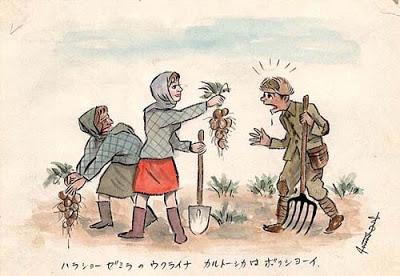 Japan capitulatie tekeningen kampen tekeningen