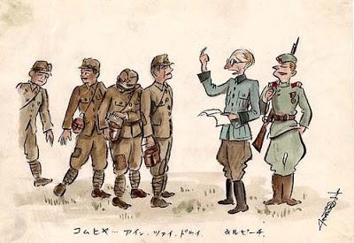 Kiuchi Nobuo Oekraïne tekeningen Japanner