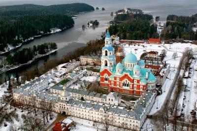 kerk klooster eiland Valaam Rusland kerk invaliden