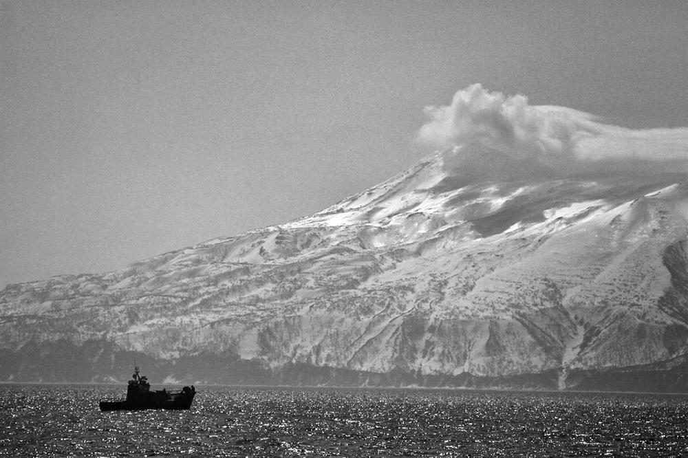 visvangst visserij Sachalin