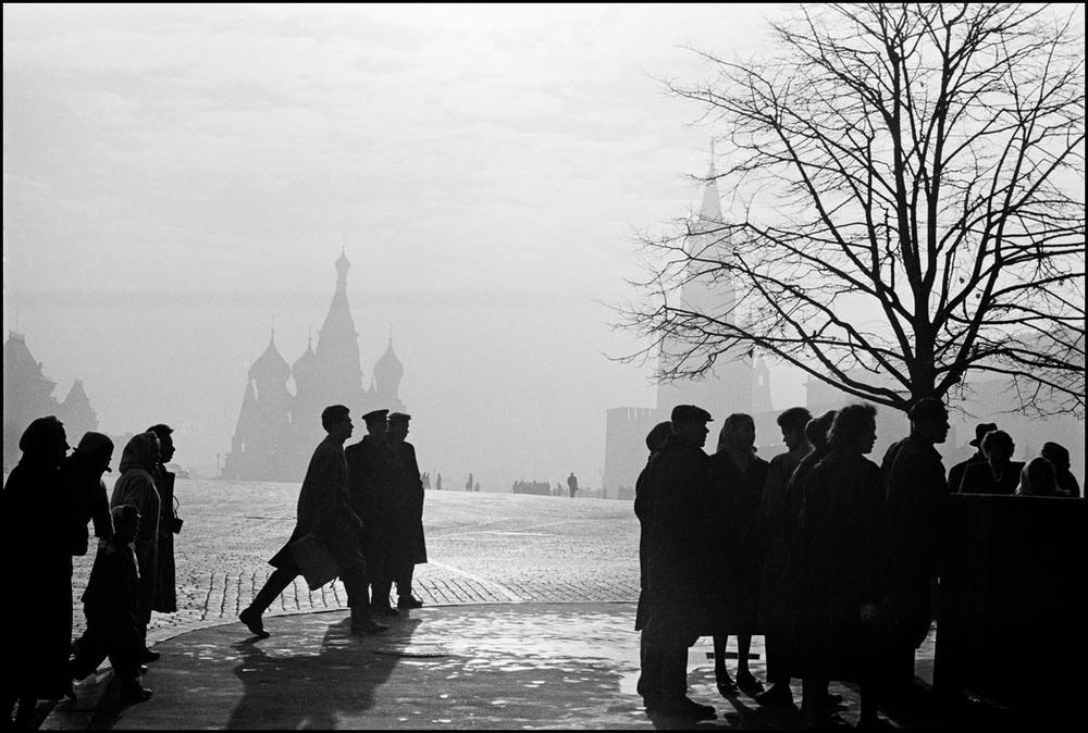 Burt Glinn - Moskou, 1961