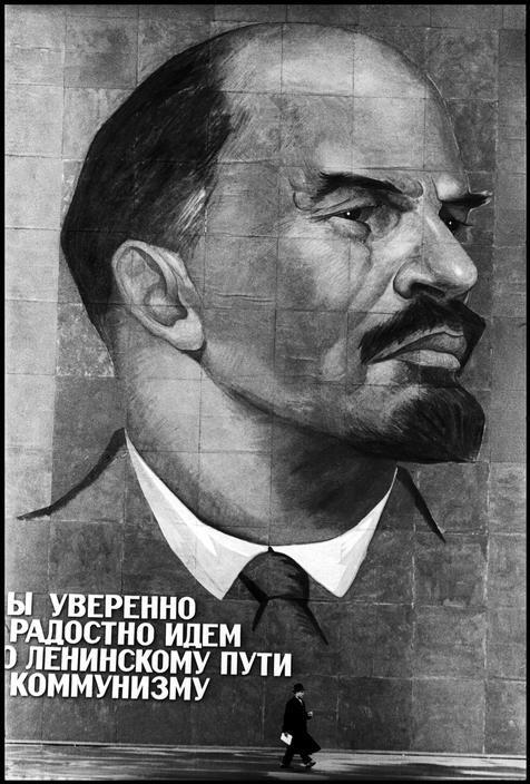 Lenin Burt Glinn Moskou 1961