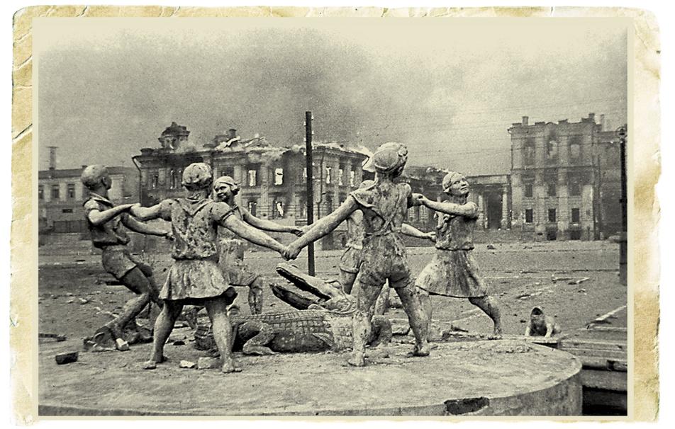 Tweede Wereldoorlog fontein Stalingrad Evzerichin