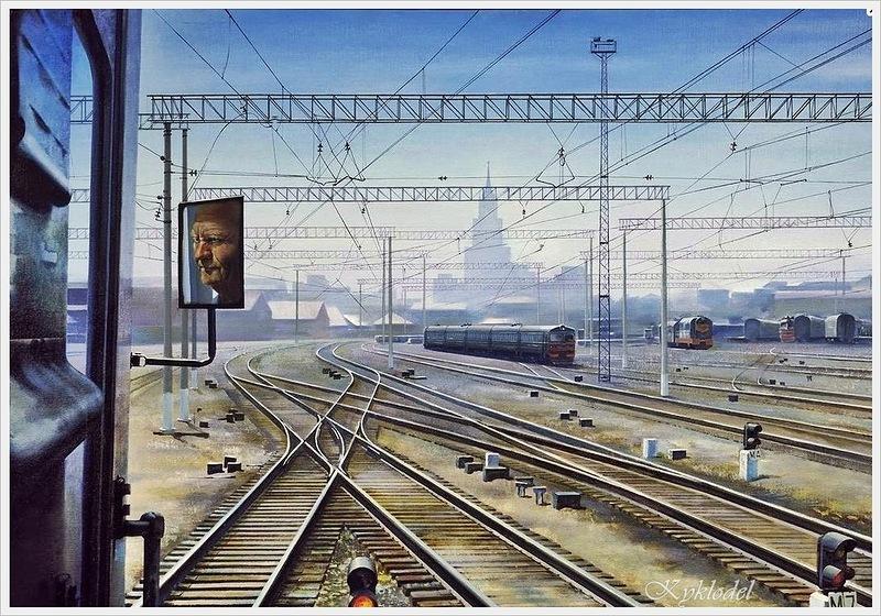 Aleksandr Petrov: Kazan Station. (1980)