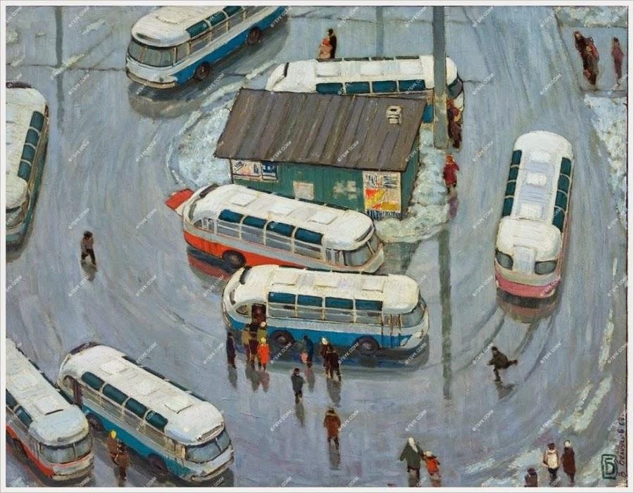 Valentin Belooesov: Carrousel. (1967)