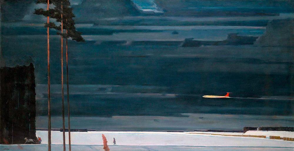 Georgi Nisski: Boven de sneeuwvlakten. (1960)