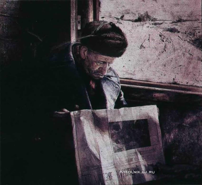 Viktor Sidorenko: Passagier. (Jaren tachtig)