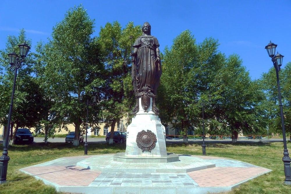 Irbit Catharina de Grote Lenin standbeeld