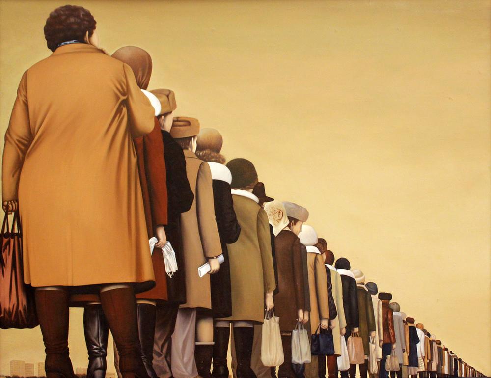 Sundukov Rij schilderij schilder perestrojka Rusland