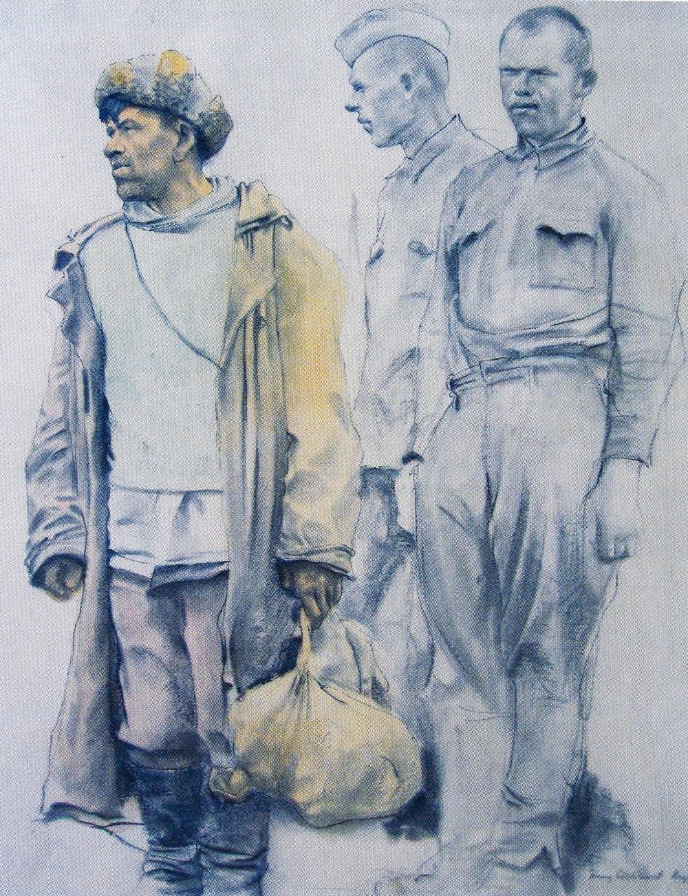 Franz Eichhorst - Gefangene
