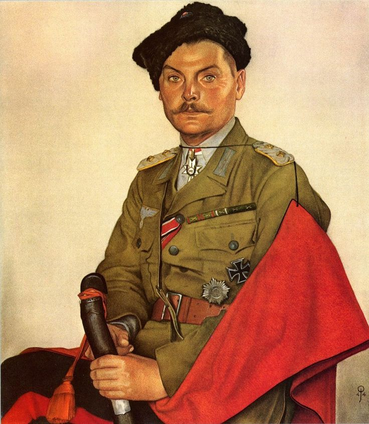 Olaf Jordan - H.H. Kohohob. (Commandant van een kozakkeneeheid)