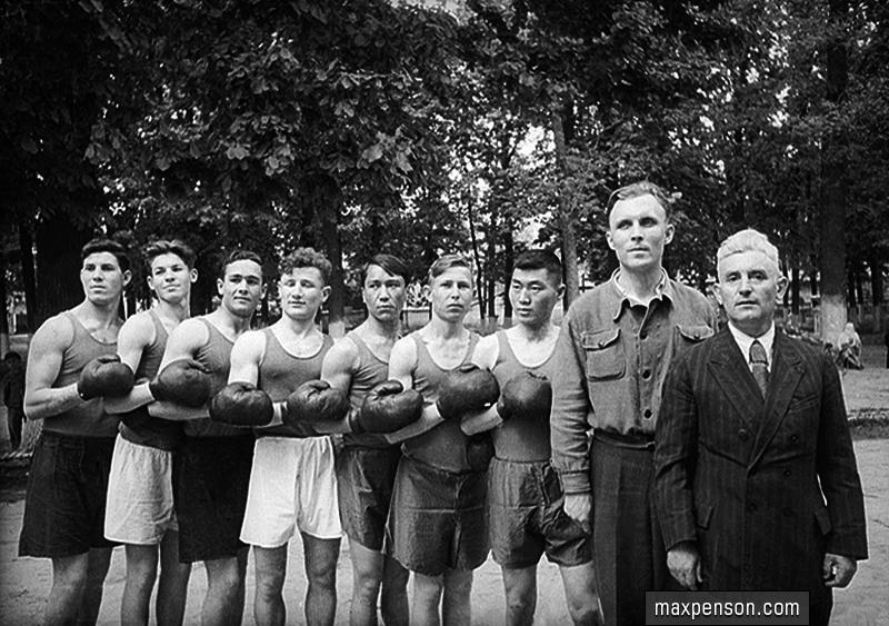 Boxing boksen Sidney Jackson Oezbekistan Tashkent