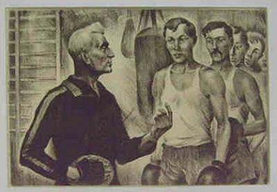 Rifkat Azihanov - Jackson met zijn boksers