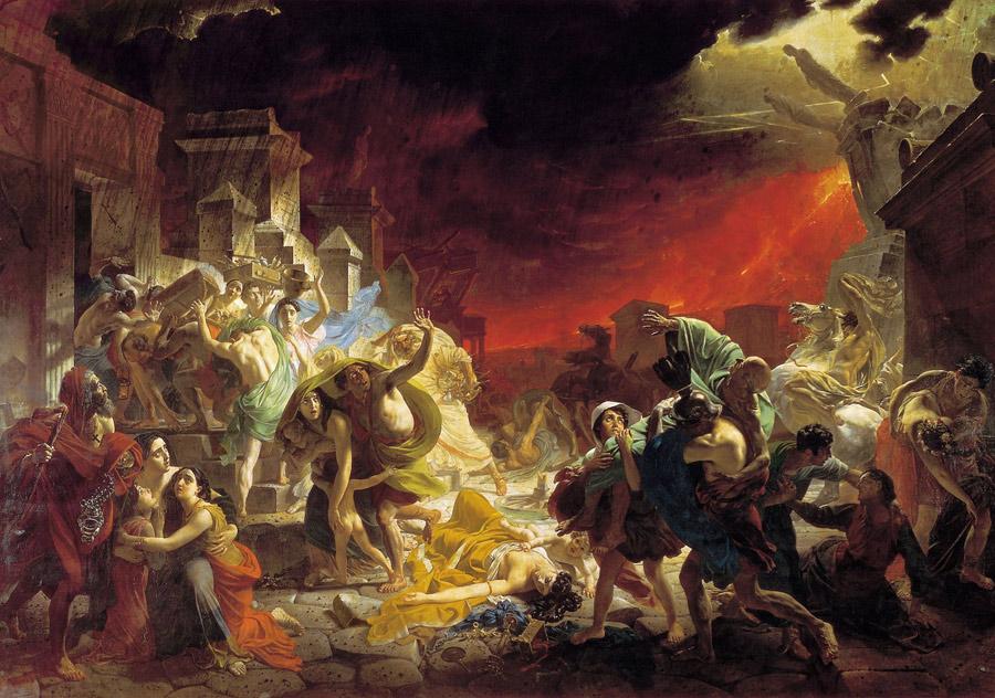 K.Brjoellov: De laatste dagen van pompeï